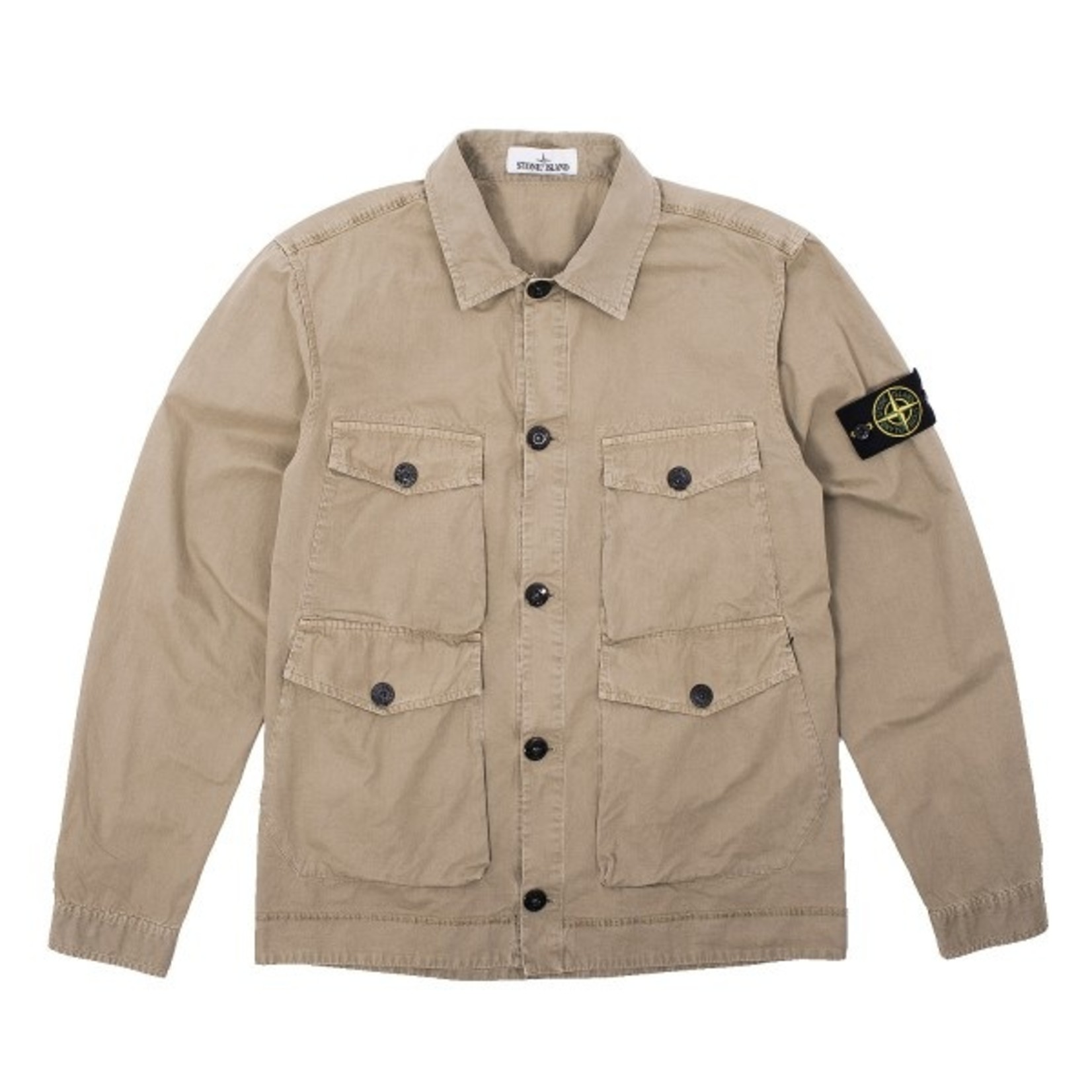 Stone Island Button Overshirt