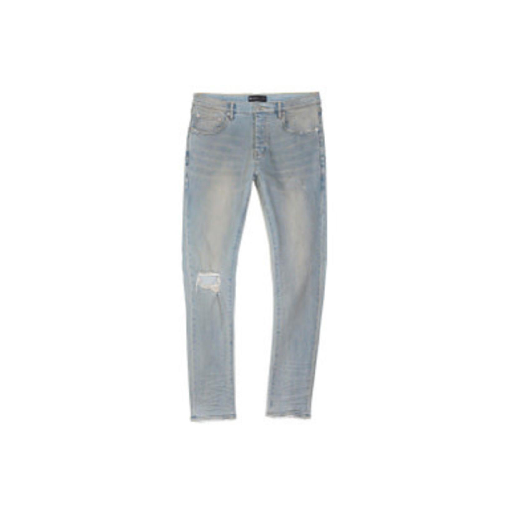 Purple Brand Light Dirty Wax Jeans