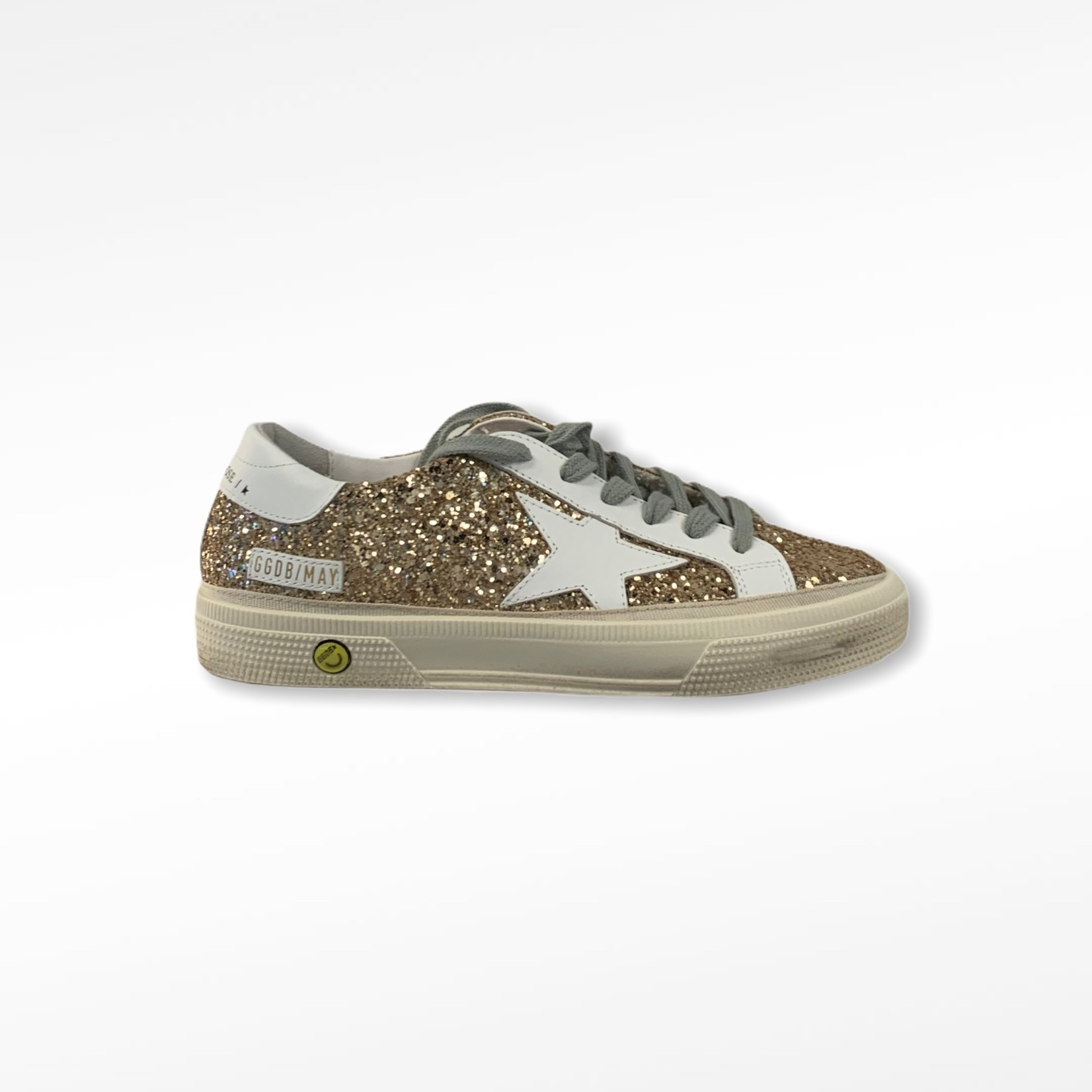 Golden Goose may glitter upper leather star and heel