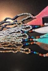 Baltic Amber Stone Mala Necklaces