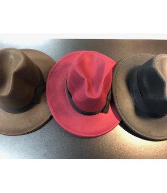 CA Winter Fedora Type Hat