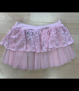 So Danca So Danca Double Layered Lace Skirt