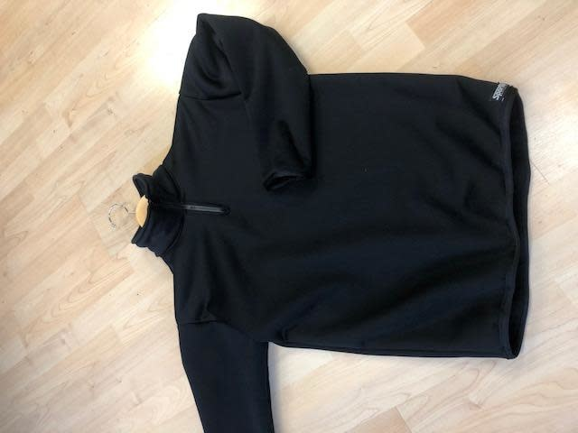 Sportees Sportees Athletic Fit WindPro Fleece Zip Logan Insulation Layer Sweater
