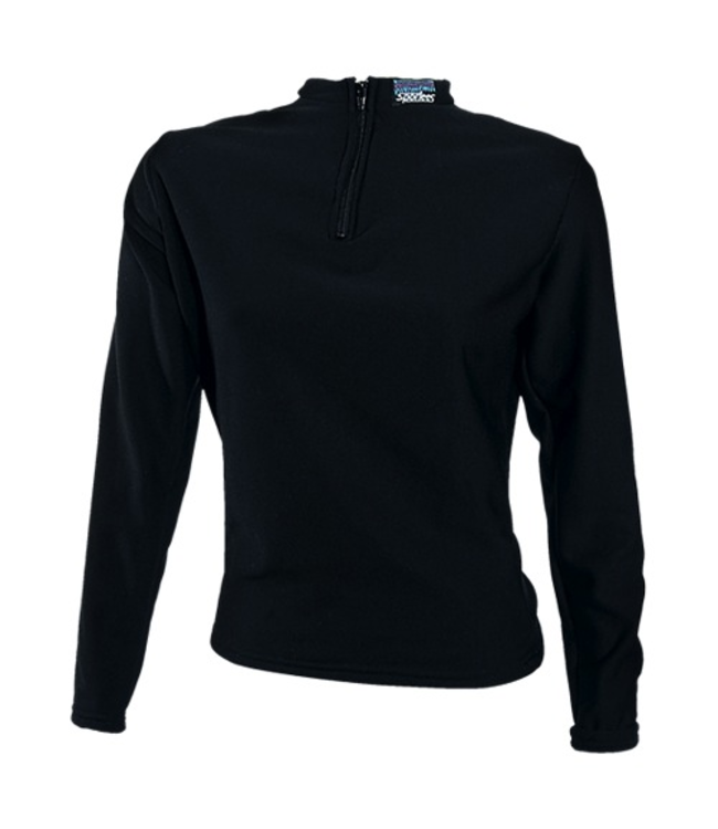 Sportees Sportees Athletic 4 Way Stretch Powerstretch Fleece Fitted Top