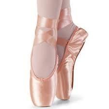 Capezio Capezio-102-Glisse-Pointe-Shoes Pink