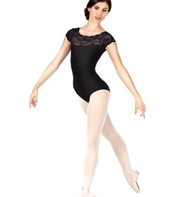 So Danca So Danca Girls Lace Cap Sleeve Leotard SL17