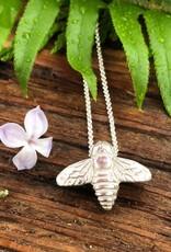 LoveMorningMoon Love Morning Moon Bee Necklace Sterling Silver