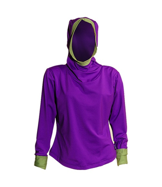 Sportees Athletic 4 Way Stretch Powerstretch Fleece Yoga Hoodie- One Size ( Can Be Made To Fit You)