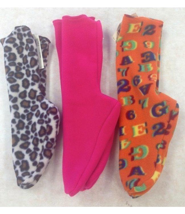 Sportees Children-2 Way Stretch 200 Weight Fleece Socks-Size 4