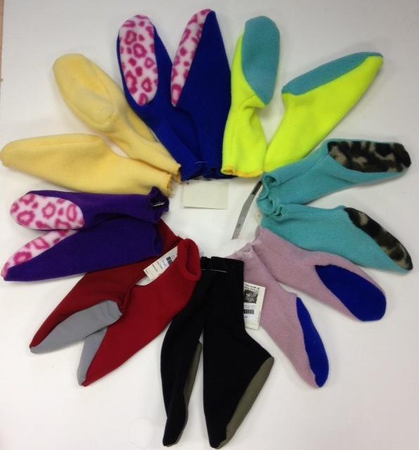 Sportees Children-2 Way Stretch 200 Weight Fleece Socks-Size 3