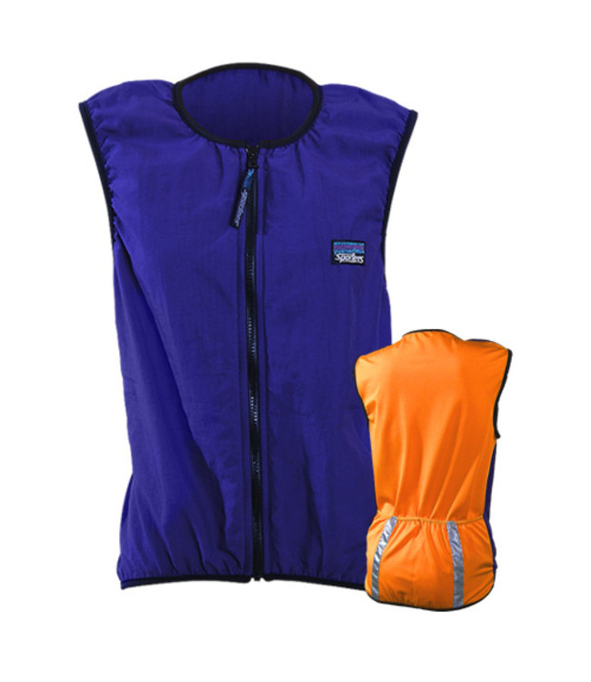 Sportees Sportees Athletic Cycling Vest Fit w/ Nylon Front & Lycra Back-Custom Made-Size S