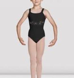 Bloch Mirella Jasmine Open Back Leotard, BLACK, 12