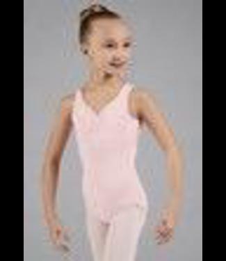 Bloch Mirella Jasmine Mesh Back Leotard, BLACK, 12