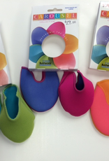 Capezio Capezio-Bh1055-Ouch-Pouches for Pointe Shoes, VIOLET/FUSCHIA, S
