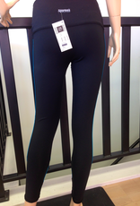Sportees Sportees Athletic Fit 4-Way Stretch Fitted Yoga Tight+s w/ Wide Waistband- Size M-Extra