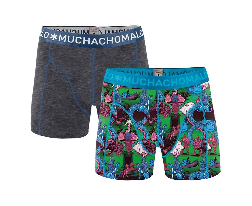 Muchachomalo Muchachomalo-Men's-Under-Shorts-Cotton 2 pack, NEVER1, S