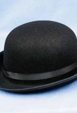 Derby Hat, BLK, Adult