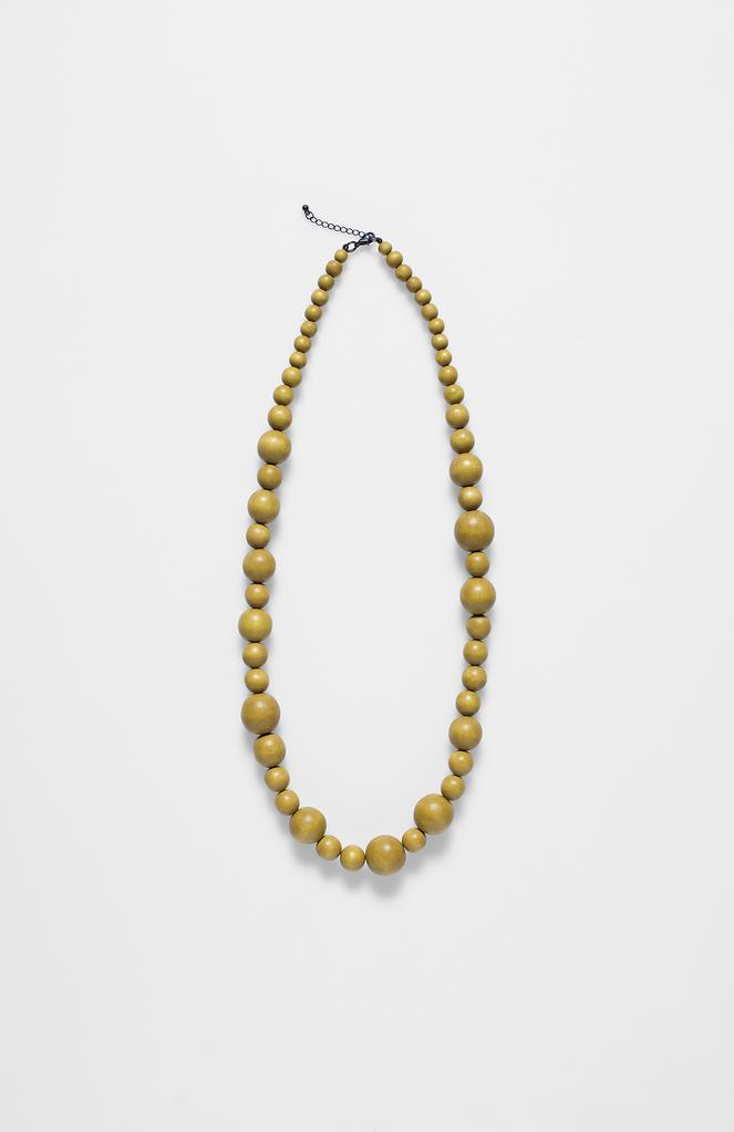 ELK Elk Blonde Single Strand Bauble Necklace