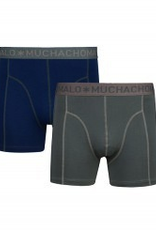 Muchachomalo Muchachomalo-Men's-Under-Shorts - 2 pack - Cotton/Modal, FOREST, S