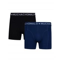Muchachomalo Muchachomalo-Men's-Under-Shorts - 2 pack - Cotton/Modal, NIGHT2, S