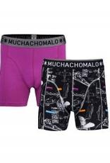 Muchachomalo Muchachomalo-Men's-Under-Shorts-Cotton 2 pack, CREATE2, L