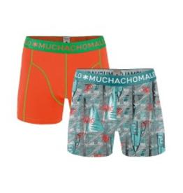 Muchachomalo Muchachomalo-Men's-Under-Shorts-Cotton 2 pack, WEST6, M