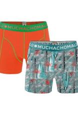 Muchachomalo Muchachomalo-Men's-Under-Shorts-Cotton 2 pack, WEST6, S