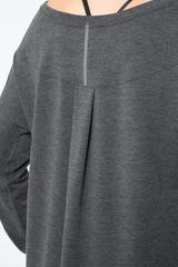 MPG MPG Chia 2.0 Warrior Knit Stink-Free Drape Top, WHITE, M