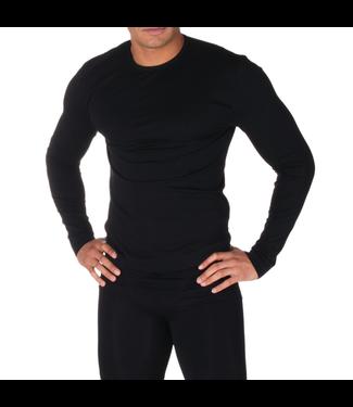 Firma Energywear Firma Energywear-Men's-Long-Sleeve-Thermal-Top, BLACK, XL