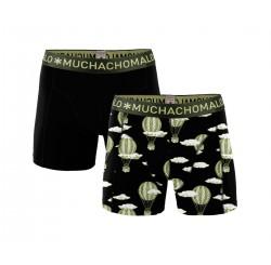 Muchachomalo Muchachomalo-Men's-Under-Shorts - 2 pack - Cotton/Modal, AIRBALL, S