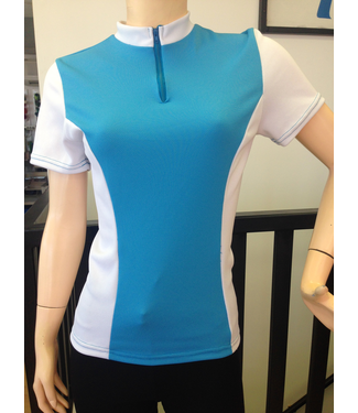 Sportees Sportees Athletic Fit Cycling Multi-Paneled Jersey w/ Back Pockets-Women's Cut-Can Pick Colours for Each Panel- Size M
