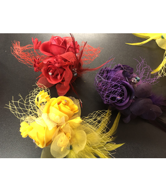 CA Hair Accessory with Roses