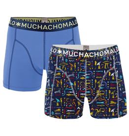 Muchachomalo Muchachomalo-Men's-Under-Shorts-Cotton 2 pack, FARA06, XL
