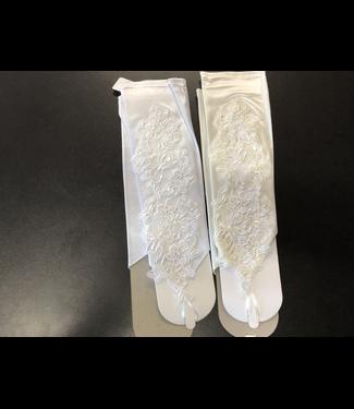 CA Beaded Fingerless Gloves