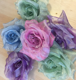 CA HA-003 Flowers - Organza