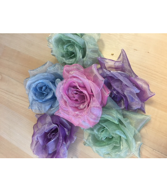 CA HA-003 Flowers - Organza