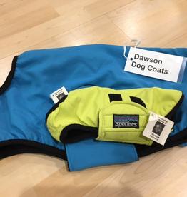 Sportees Sportees Dog Coat Fleece Lined w/ 200 Weight Fleece, Water Resistance byTaslan Nylon w/ Velcro Closure