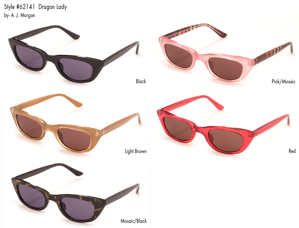 A.J. Morgan 62147-Dragon-Lady-Glasses