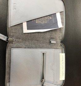 ELK Elk Saunte Passport Wallet, POWDER BLUE, O/S