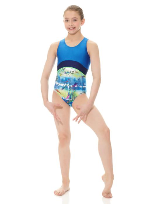 Mondor Mondor 17838-Gymnastics Bodysuit