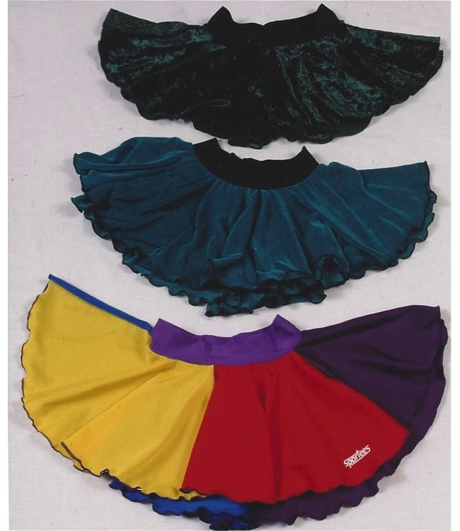 Sportees Sportees-Pull-On-Skirt Made from Stretch Fabrics