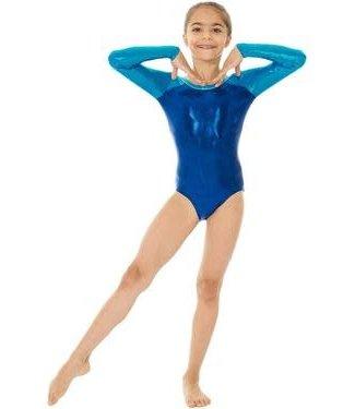 Mondor Shiny Long Sleeve Leotard / Bodysuit 7890