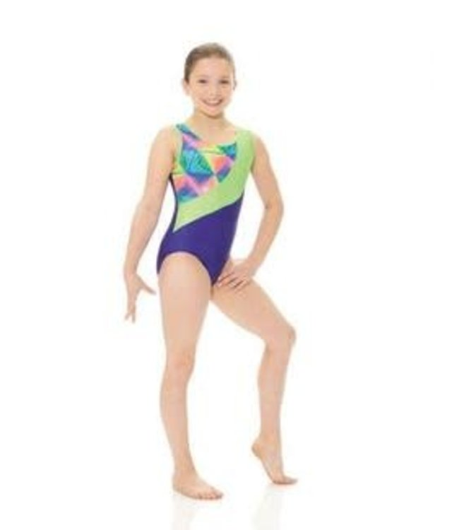 Mondor Art Deco Bodysuit / Leotard 27886