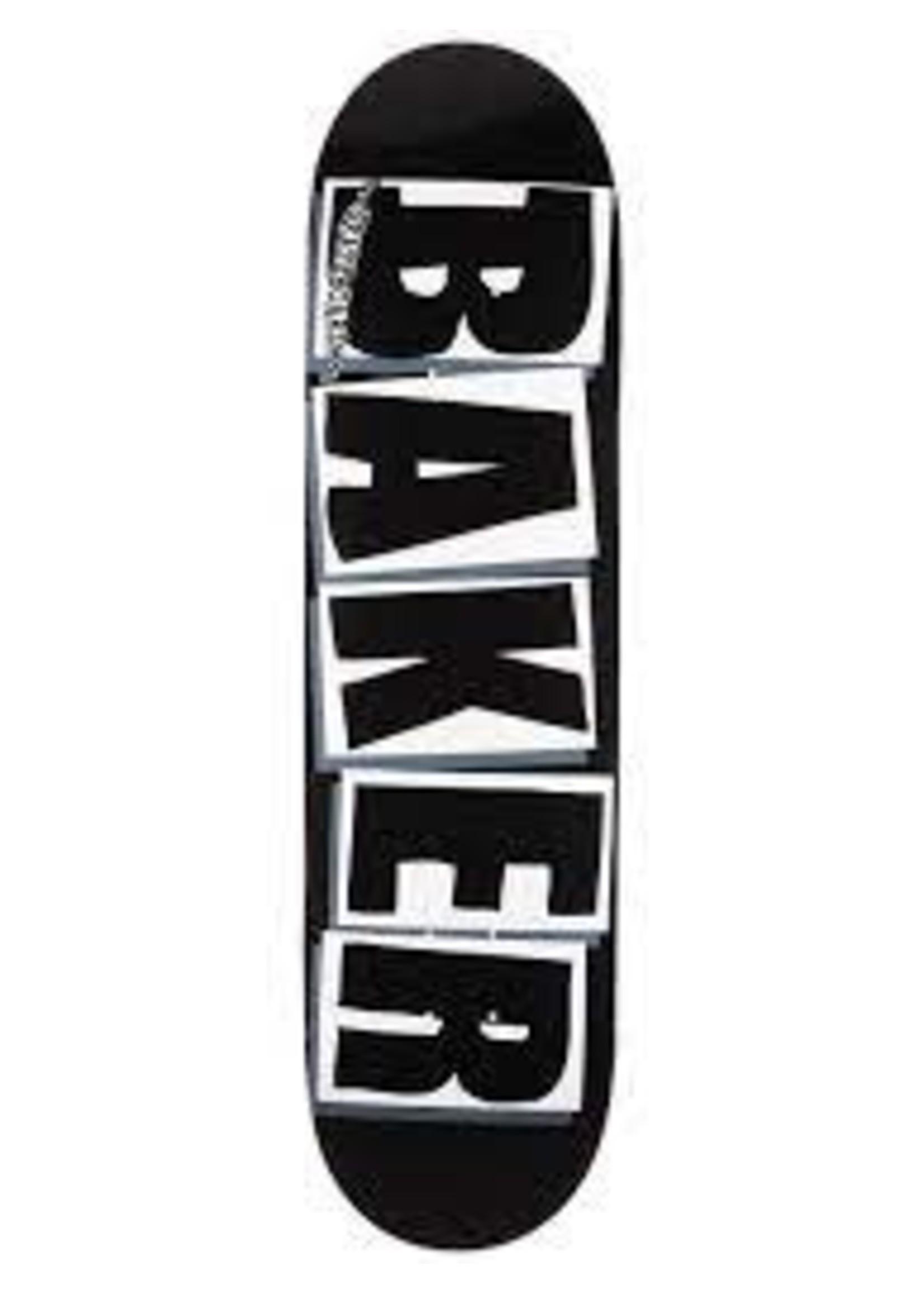Baker Baker Black Logo Deck