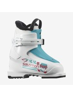 Salomon ALP. BOOTS T1 Girly White/SCUBA BLUE