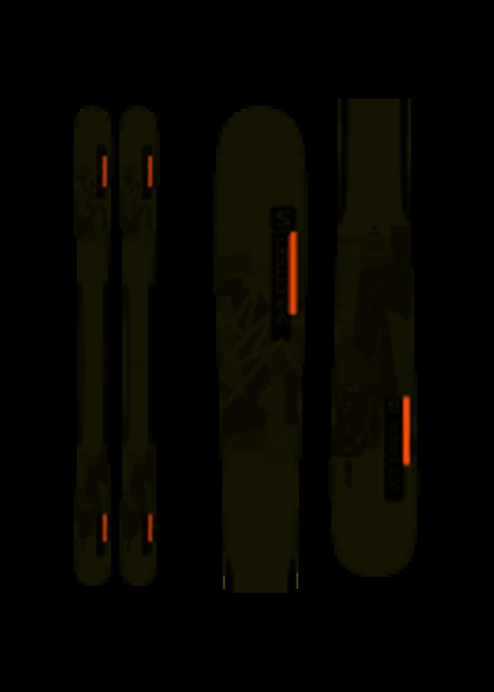 Salomon SKIS N QST SPARK Grey/Orange