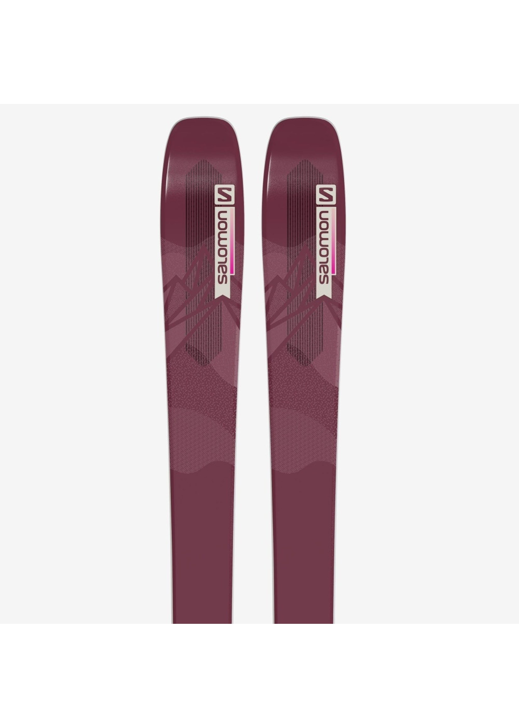 Salomon SKIS N QST LUX 92 Bordeau/Pink