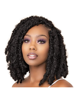 Janet Collection 3X Butterfly Bob Locs 10-12-14