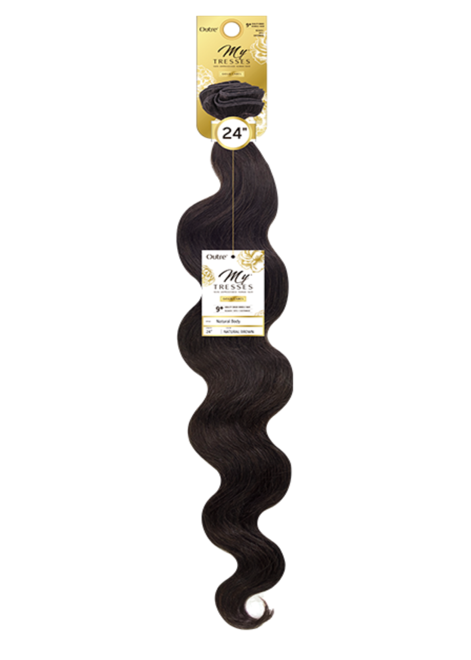 """Outre My Tresses Gold Body Single Pack Nat Blk 10""""-22"""""""