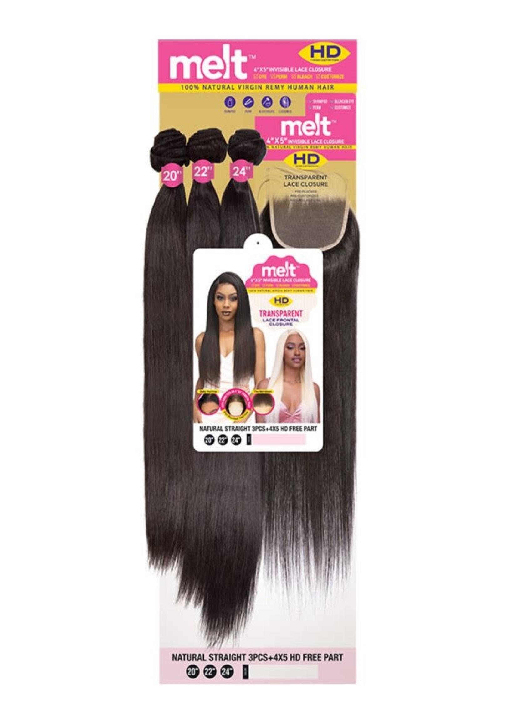 Janet Collection Janet Melt Brazilian Straight 14,16,18